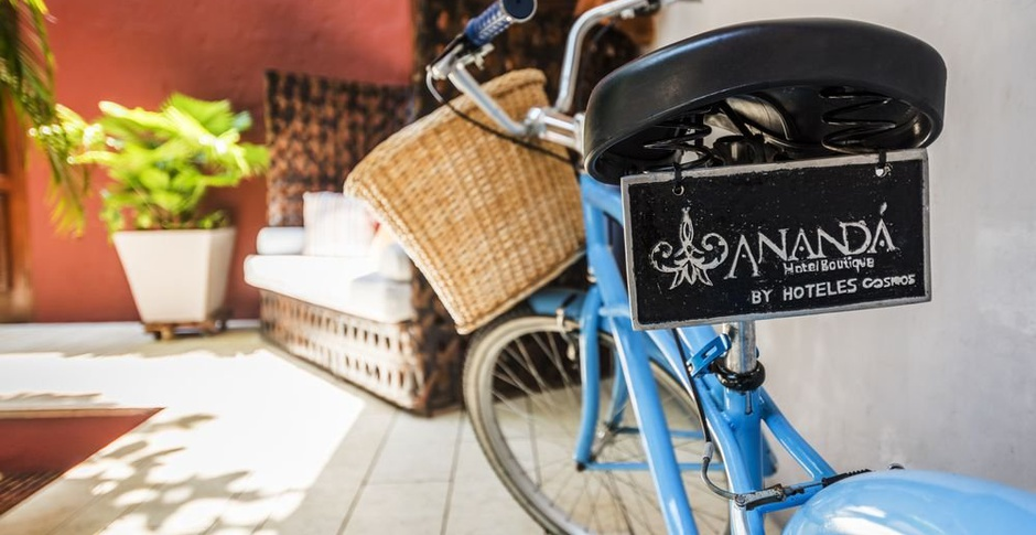 FREE BIKE HIRE Anandá Hotel Boutique by Cosmos en Cartagena de Indias