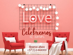 💌 Romantic Night 💖 from USD 107.00  VAT Included Cosmos 100 Hotel & Convention center en Bogotá